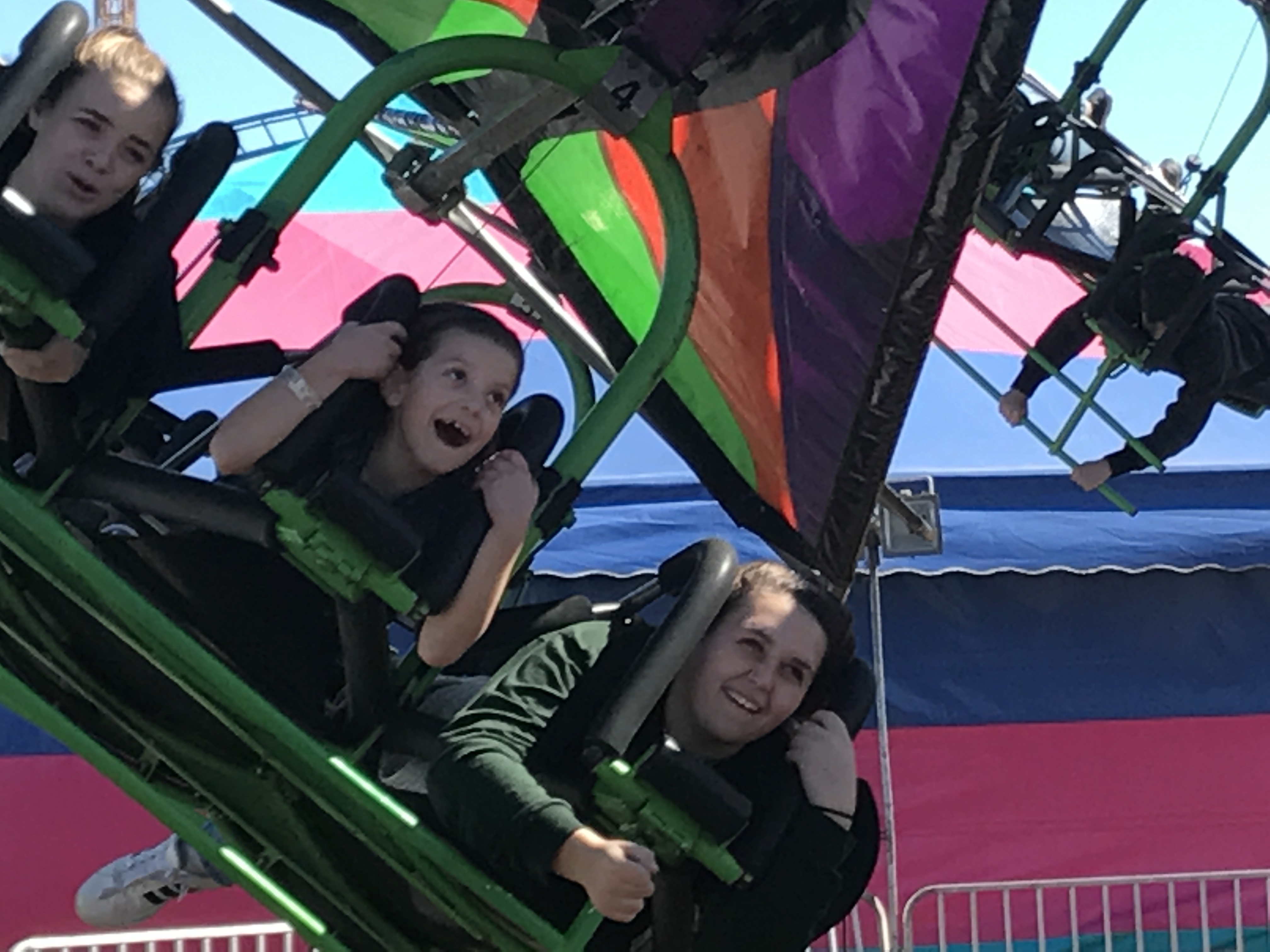 <div class='meta'><div class='origin-logo' data-origin='WTVD'></div><span class='caption-text' data-credit=''>North Carolina State Fair is in full swing and people seem to be enjoying what the 150th year has to offer.</span></div>