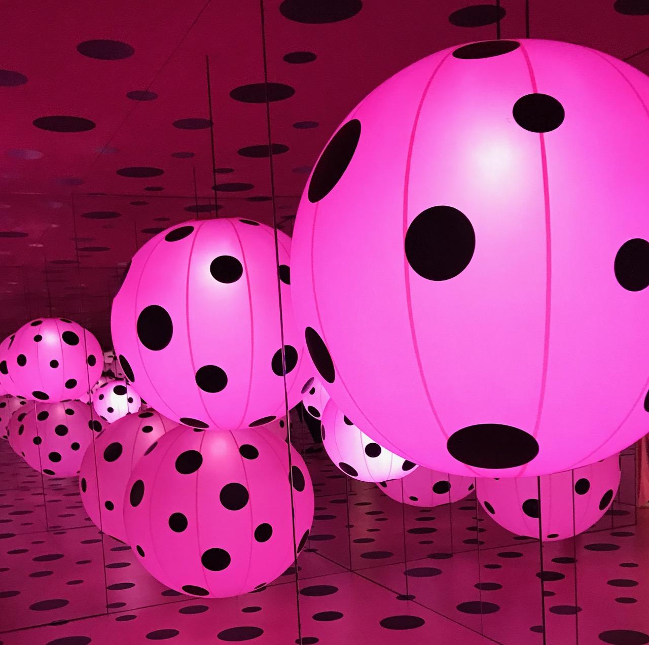 <div class='meta'><div class='origin-logo' data-origin='none'></div><span class='caption-text' data-credit=''>Inside the Broad's Yayoi Kusama: Infinity Mirrors</span></div>