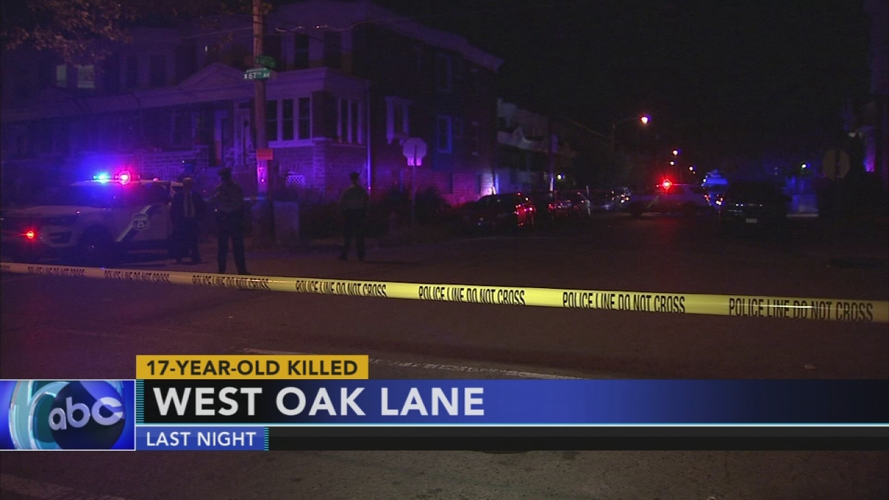 Video shows suspect in deadly shooting in West Oak Lane section of