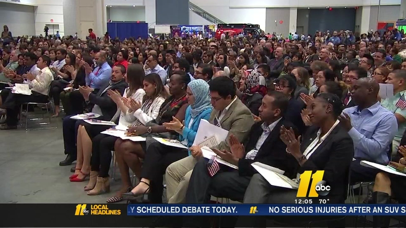 125 people become US citizens in Raleigh