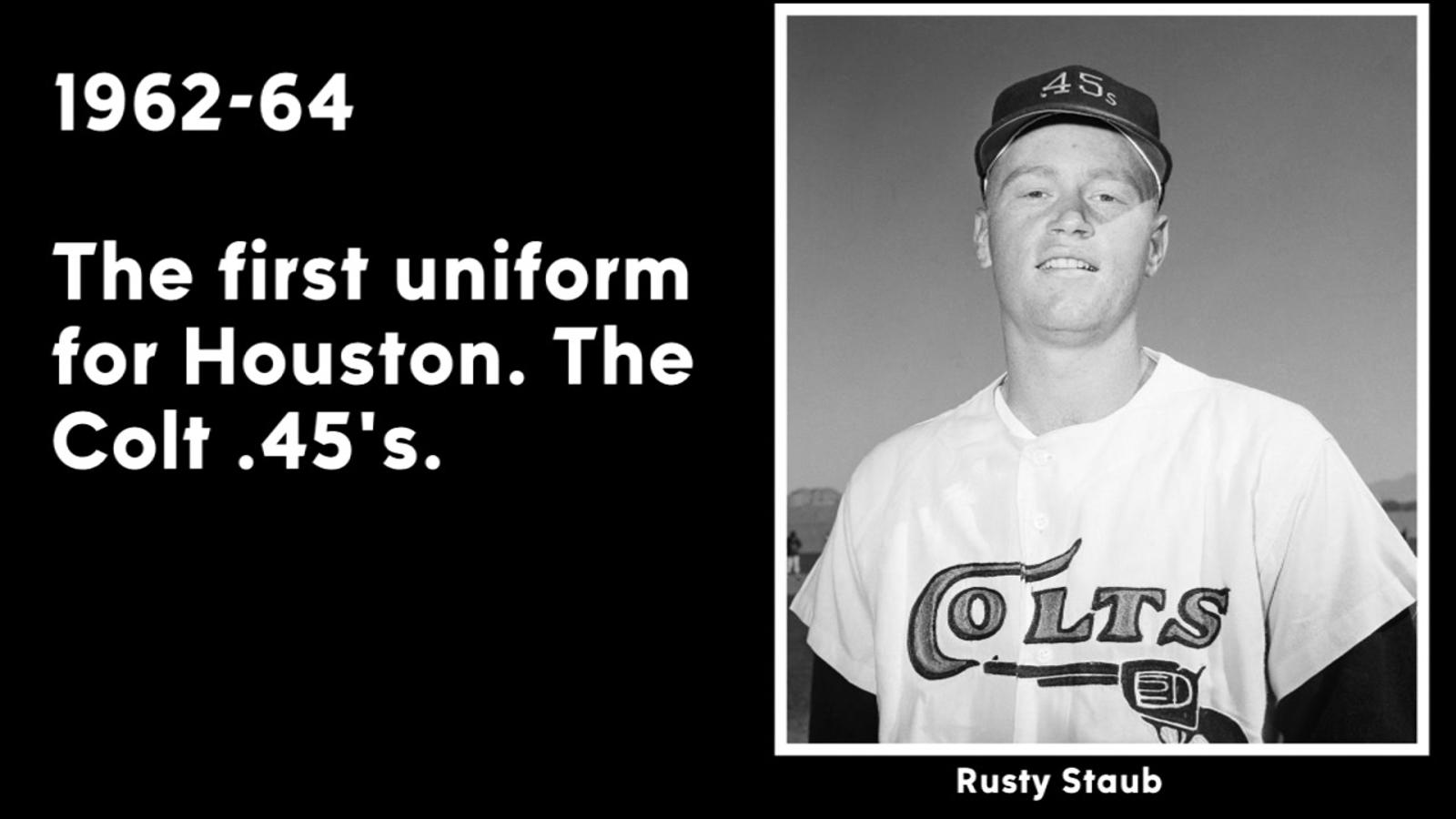 8b0916f07f1 Houston Astros uniform changes through the years