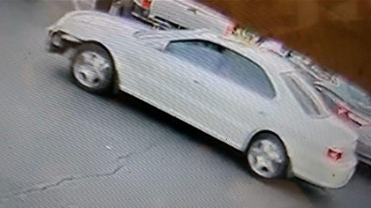 Surveillance image of car police say was used in a hit and run accident that injured two kids in Vallejo on Sunday, October 22, 2017.