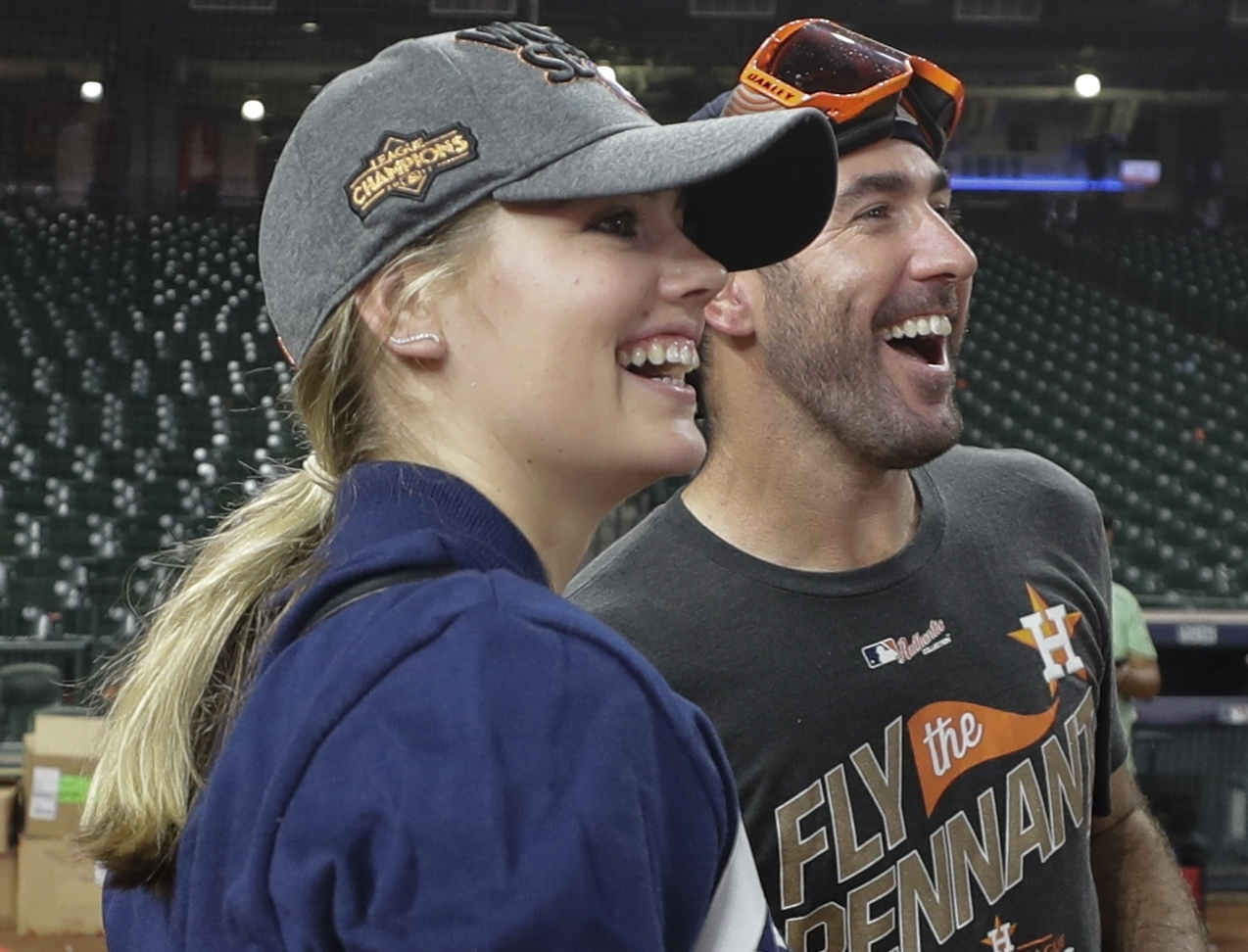 <div class='meta'><div class='origin-logo' data-origin='AP'></div><span class='caption-text' data-credit='AP'>The outfits of Kate Upton during Astros games</span></div>
