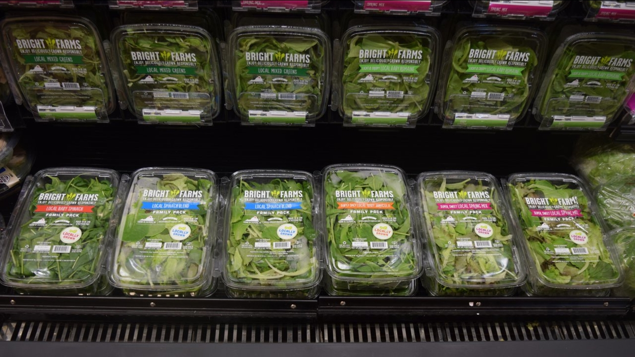 BrightFarms salad greens.