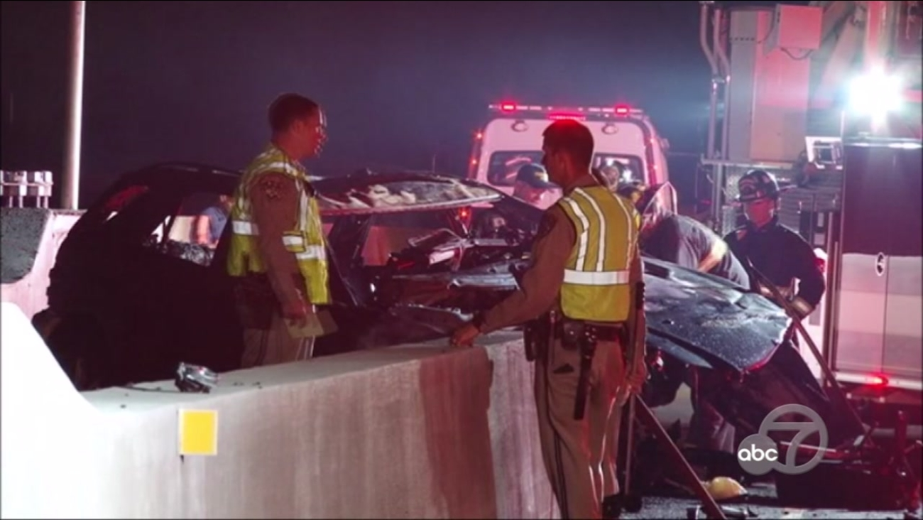 Fatal accident on NB I-880 in Fremont, California, Wednesday, October 25, 2017.