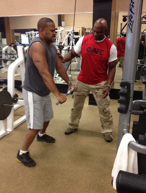 And Even Our Own Rick Williams Rickwilliams6 On Twitter Was Caught Pumping Iron At The Gym