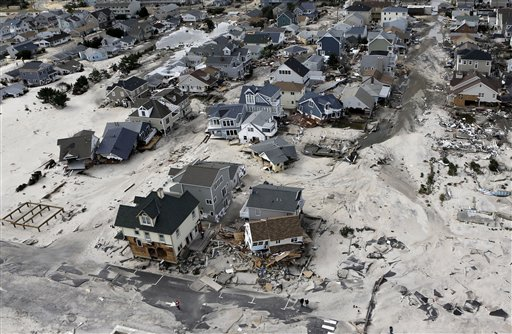 <div class='meta'><div class='origin-logo' data-origin='none'></div><span class='caption-text' data-credit='AP'>This aerial photo shows the destroyed homes left in the wake of superstorm Sandy on Wednesday, Oct. 31, 2012, in Seaside Heights, N.J.</span></div>