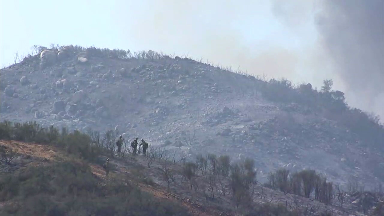 Evacuation Orders Lifted For Communities Near 700 Acre Wildomar Fire