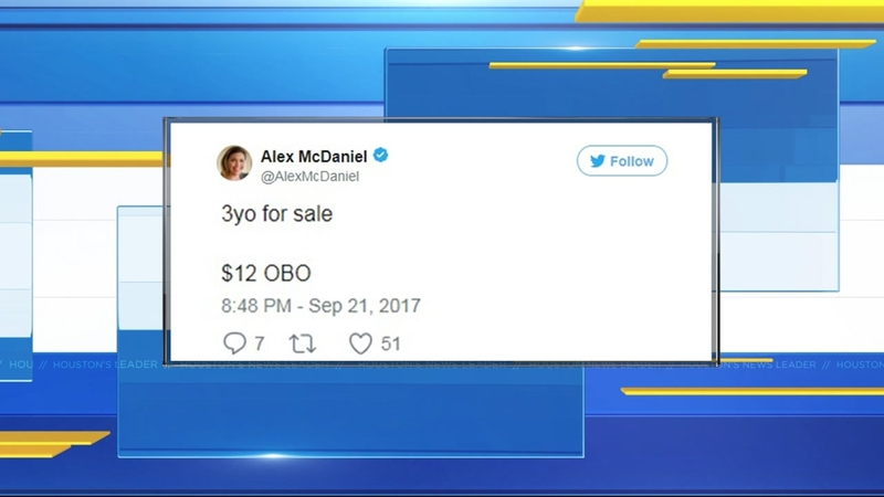 Mom investigated for human trafficking after 'funny' tweet