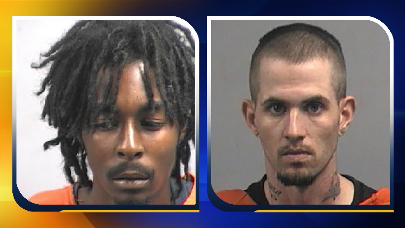 Anthony Rhodes Barnes, left, and Kendall Shane Price.