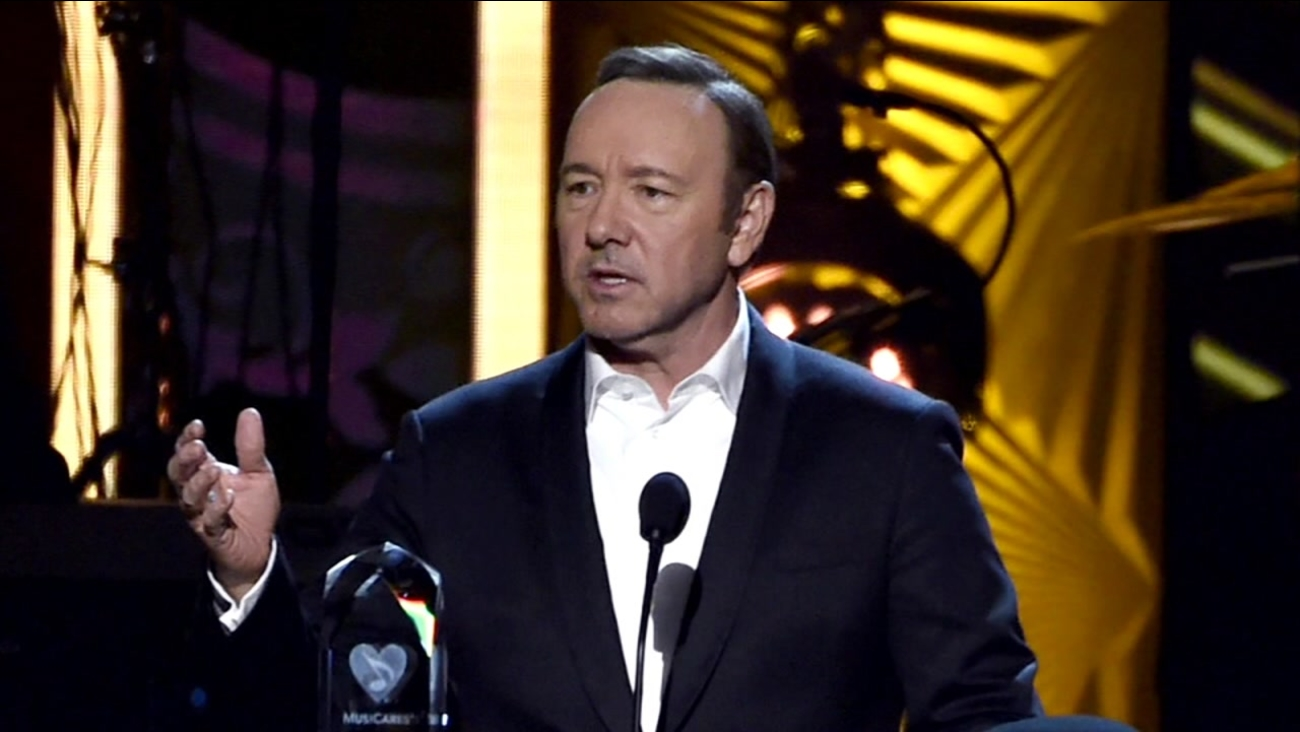 This is an undated image of Kevin Spacey.