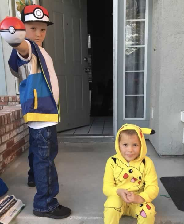 <div class='meta'><div class='origin-logo' data-origin='none'></div><span class='caption-text' data-credit='Photo by garciarog4/Twitter'>ABC7 News viewers are celebrating Halloween with some spooky costumes. We want to see your costumes, share photos using #abc7now.</span></div>