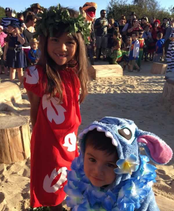 <div class='meta'><div class='origin-logo' data-origin='none'></div><span class='caption-text' data-credit='Photo by Sylvia Saucedo Dimapasoc/Facebook'>ABC7 News viewers are celebrating Halloween with some spooky costumes. We want to see your costumes, share photos using #abc7now.</span></div>
