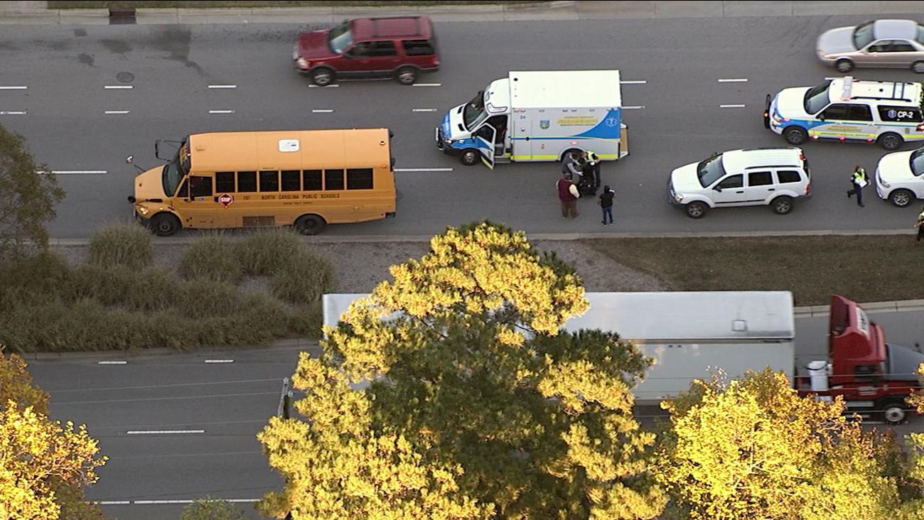 school bus crash durham