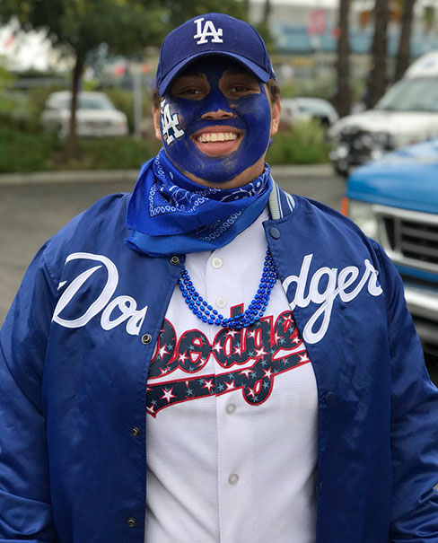 <div class='meta'><div class='origin-logo' data-origin='KABC'></div><span class='caption-text' data-credit=''>Dodger fans were ready for Game 6 of the World Series at Dodger Stadium.</span></div>