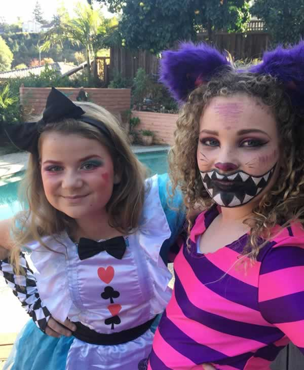 <div class='meta'><div class='origin-logo' data-origin='none'></div><span class='caption-text' data-credit='Photo by karoislashes/Twitter'>ABC7 News viewers are celebrating Halloween with some spooky costumes. We want to see your costumes, share photos using #abc7now.</span></div>