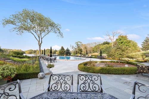 <div class='meta'><div class='origin-logo' data-origin='none'></div><span class='caption-text' data-credit='VHT Photography'>The mansion at 45 Lakeview Lane in Barrington Hills is listed at $9,950,000 and boasts five bedrooms, nine bathrooms and two partial baths.</span></div>