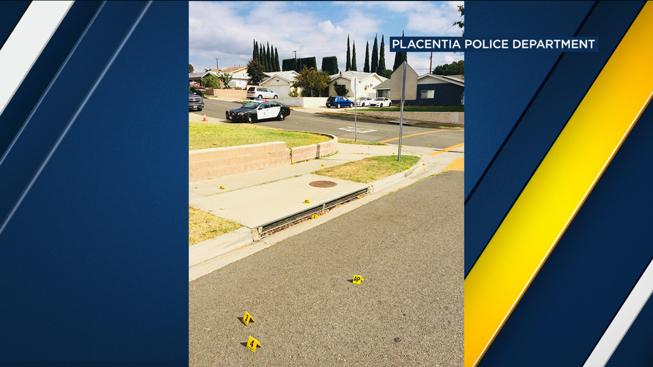 A victim in a home-invasion robbery stabbed one of the suspects multiple times in Placentia Wednesday morning following a struggle, authorities said.
