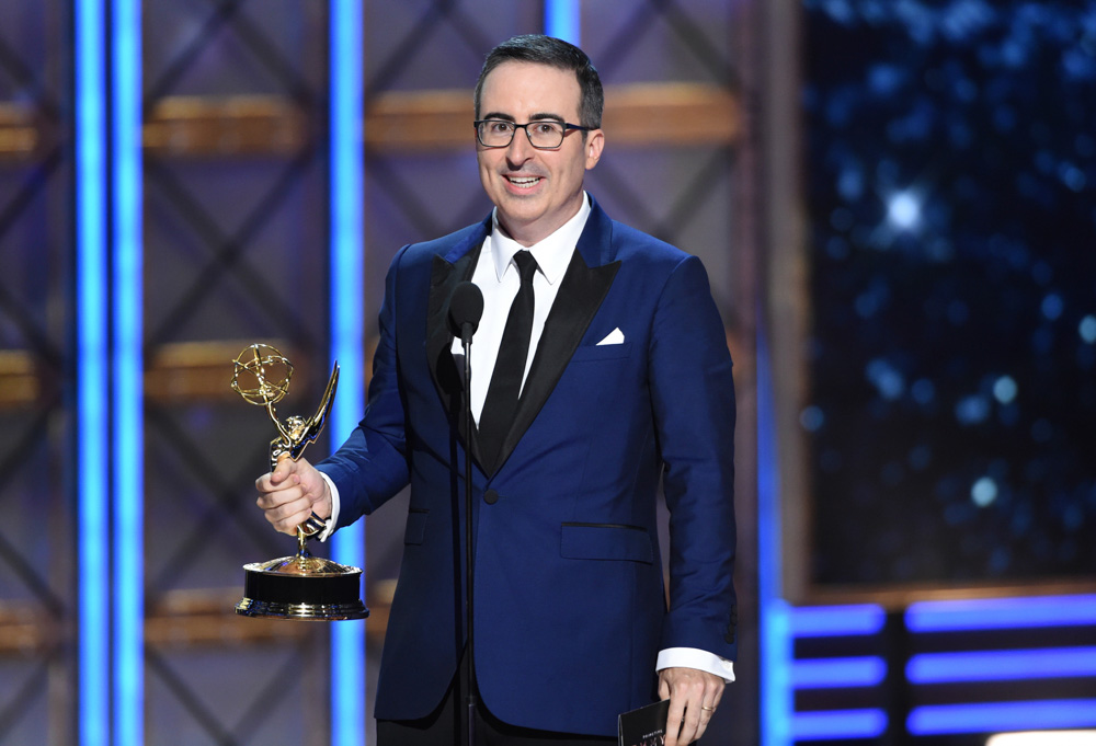 "<div class=""meta image-caption""><div class=""origin-logo origin-image none""><span>none</span></div><span class=""caption-text"">John Oliver will play Zazu in ""The Lion King."" (Phil McCarten/Invision/AP)</span></div>"