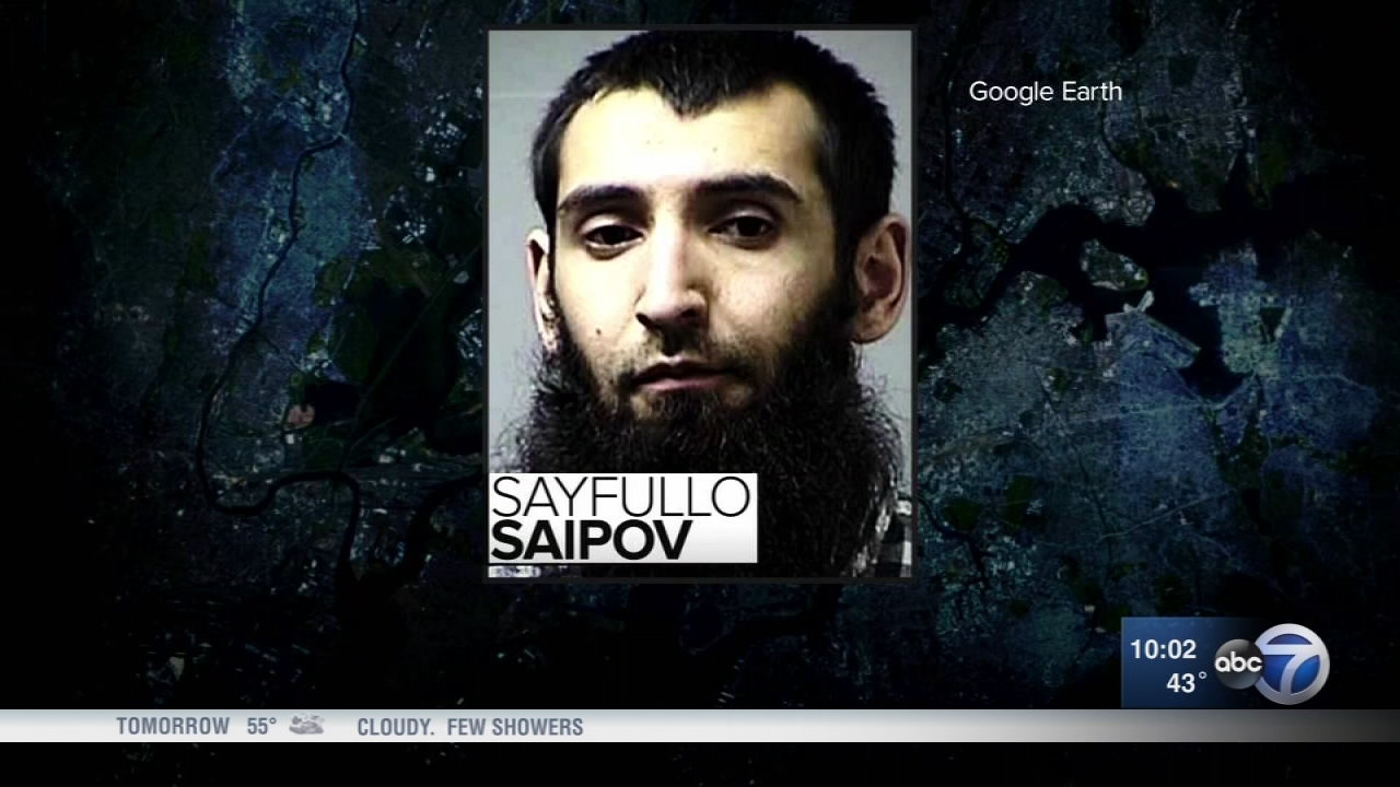 NYC truck attack charged with terrorism offenses