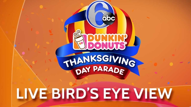 Live Birds Eye View Of The Thanksgiving Day Parade