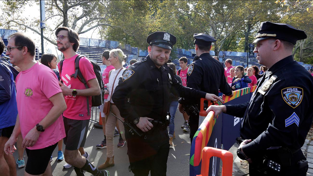 new york city marathon street closures