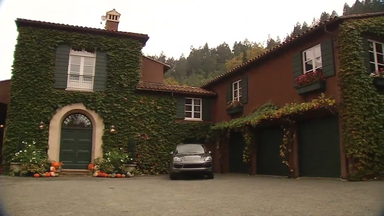 Parent Trap House In Napa Valley Survived Tragic North Bay Fires