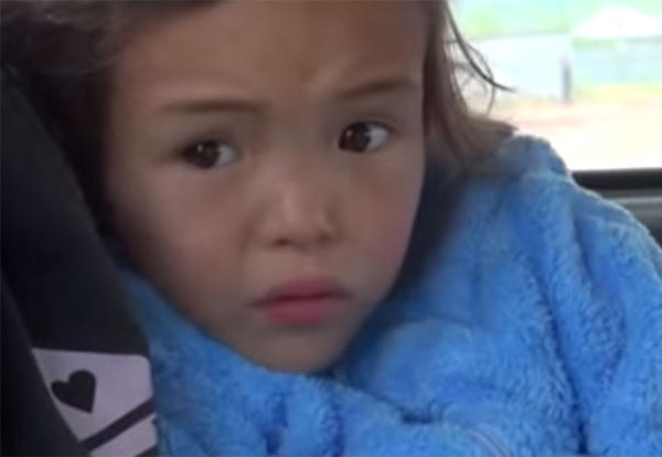 """<div class=""""meta image-caption""""><div class=""""origin-logo origin-image """"><span></span></div><span class=""""caption-text"""">Reunited with her mother in the back of an ambulance after 11 days gone missing, the two sit solemnly as they recover the recent emotional turmoil. (Photo/Ministry of Emergency Situations in Republic Sakha)</span></div>"""