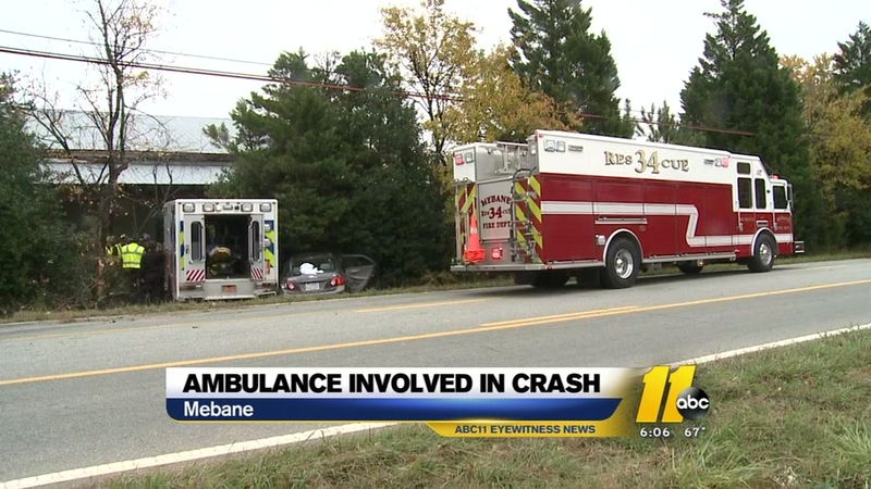 Orange County ambulance involved in accident