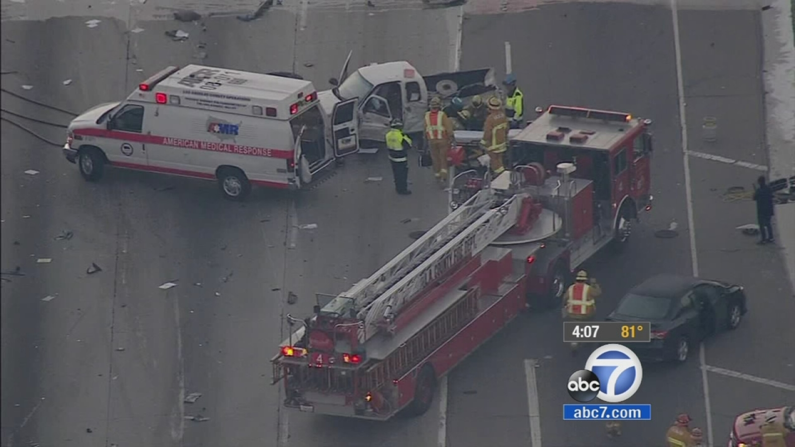 60 Freeway Crash In South El Monte 5 Year Old Girl Killed