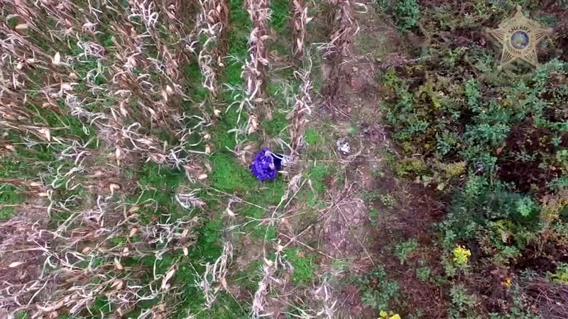 NC deputies use drone to find missing woman