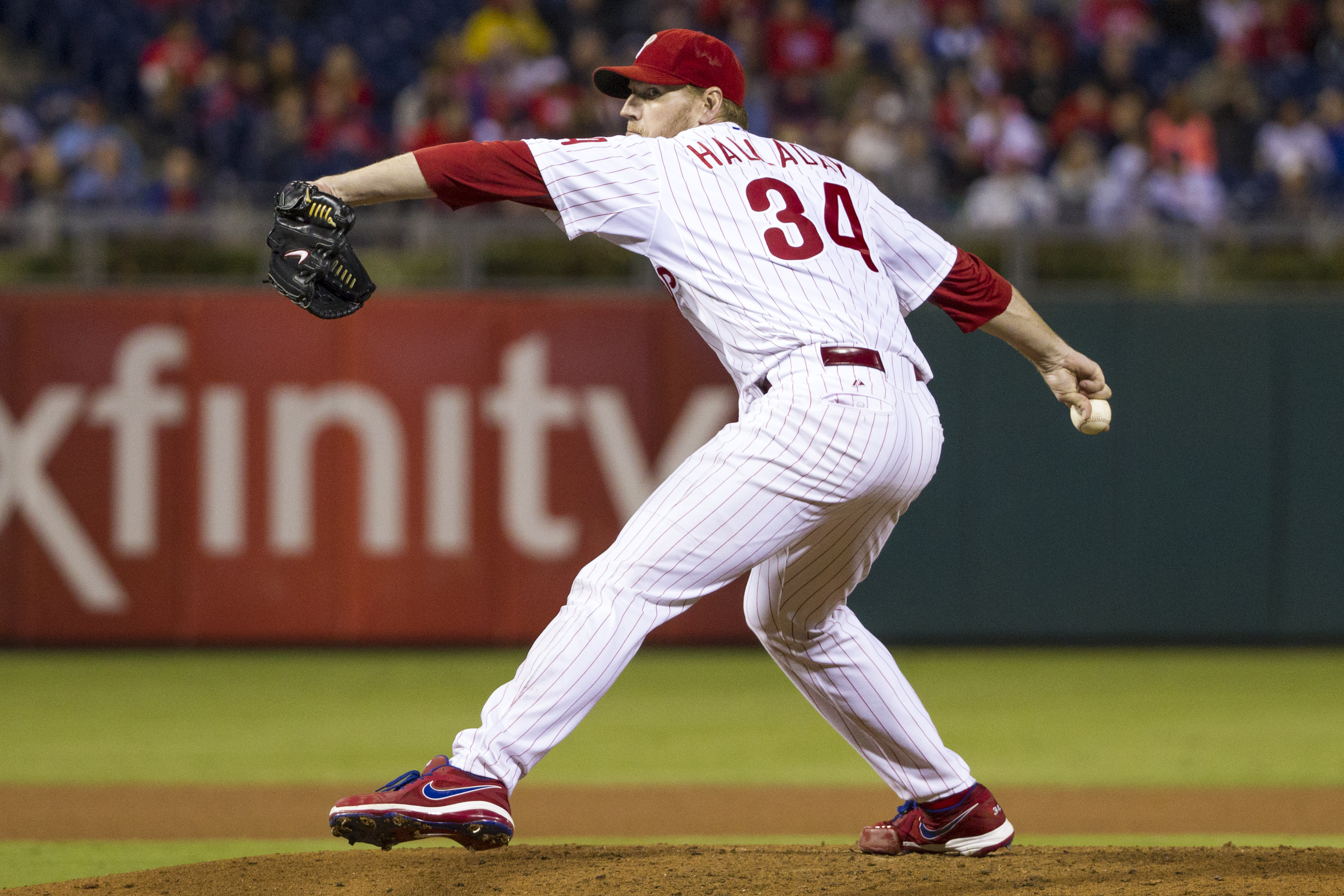 <div class='meta'><div class='origin-logo' data-origin='none'></div><span class='caption-text' data-credit=''>Roy Halladay on the mound for the Phillies in September 2013.</span></div>