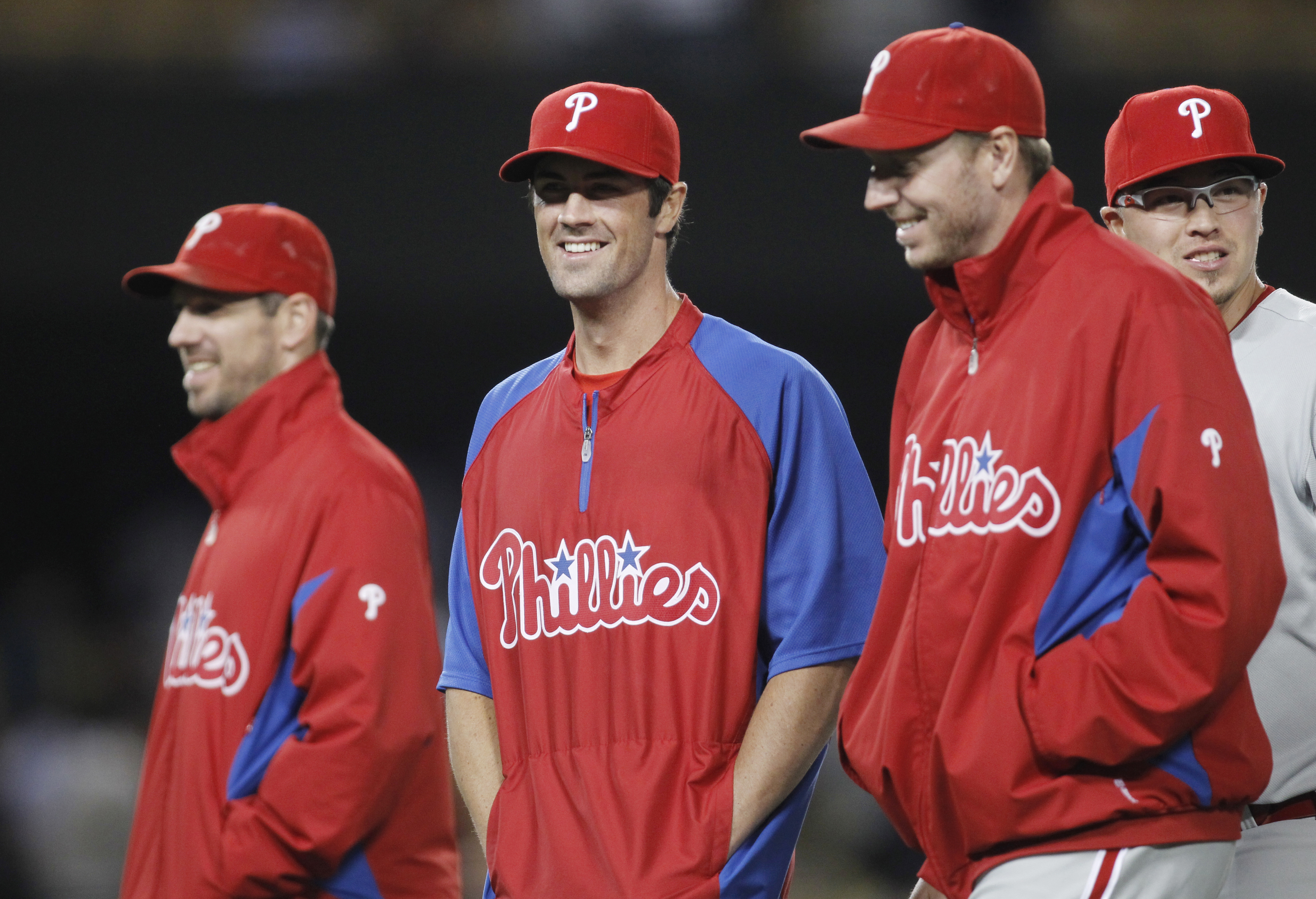 <div class='meta'><div class='origin-logo' data-origin='none'></div><span class='caption-text' data-credit=''>Roy Halladay with fellow Phillies pitching stars Cole Hamels and Cliff Lee.</span></div>