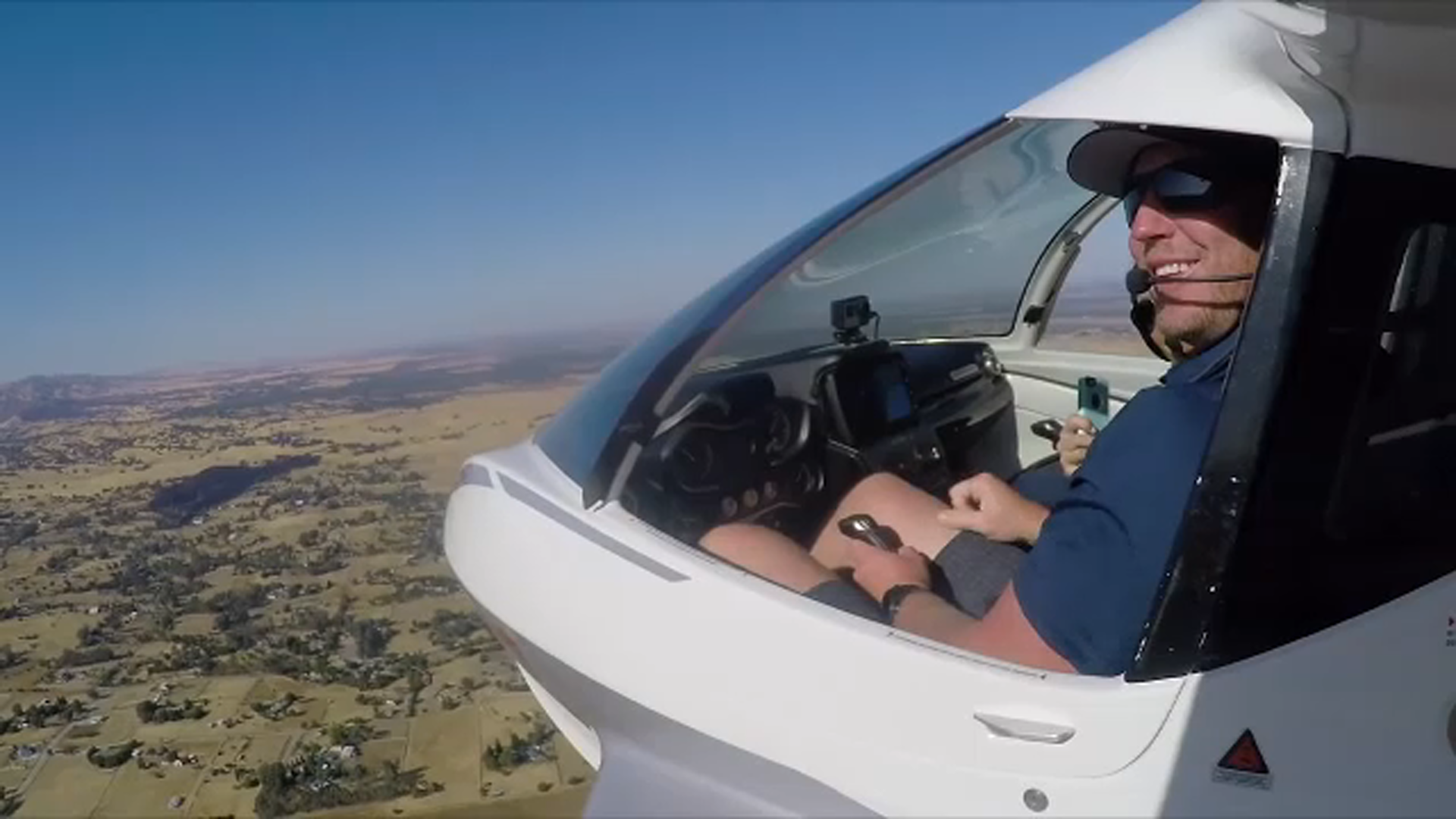 """<div class=""""meta image-caption""""><div class=""""origin-logo origin-image none""""><span>none</span></div><span class=""""caption-text"""">Roy Halladay in the cockpit, piloting an ICON A5, in a video Action News broadcast, shortly after he received his own plane.</span></div>"""