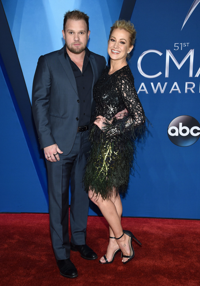 "<div class=""meta image-caption""><div class=""origin-logo origin-image none""><span>none</span></div><span class=""caption-text"">Kellie Pickler, right, and Kyle Jacobs arrive at the 51st annual CMA Awards on Wednesday, Nov. 8, 2017, in Nashville, Tenn. (Evan Agostini/Invision/AP)</span></div>"