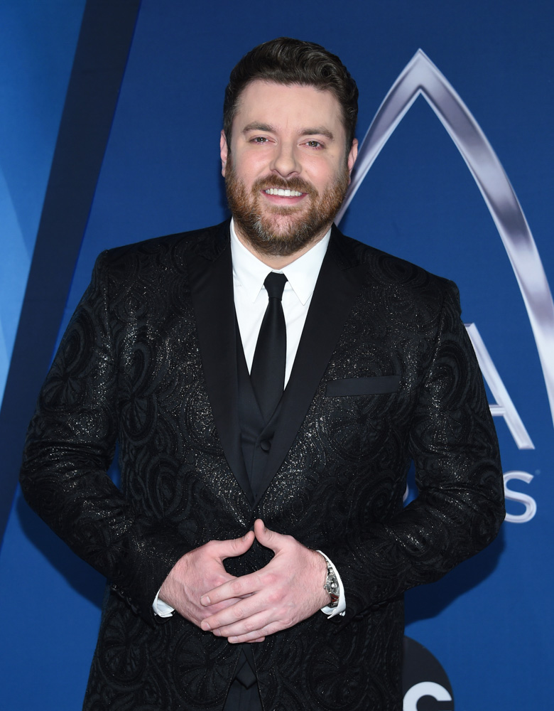 "<div class=""meta image-caption""><div class=""origin-logo origin-image none""><span>none</span></div><span class=""caption-text"">Chris Young arrives at the 51st annual CMA Awards on Wednesday, Nov. 8, 2017, in Nashville, Tenn. (Evan Agostini/Invision/AP)</span></div>"