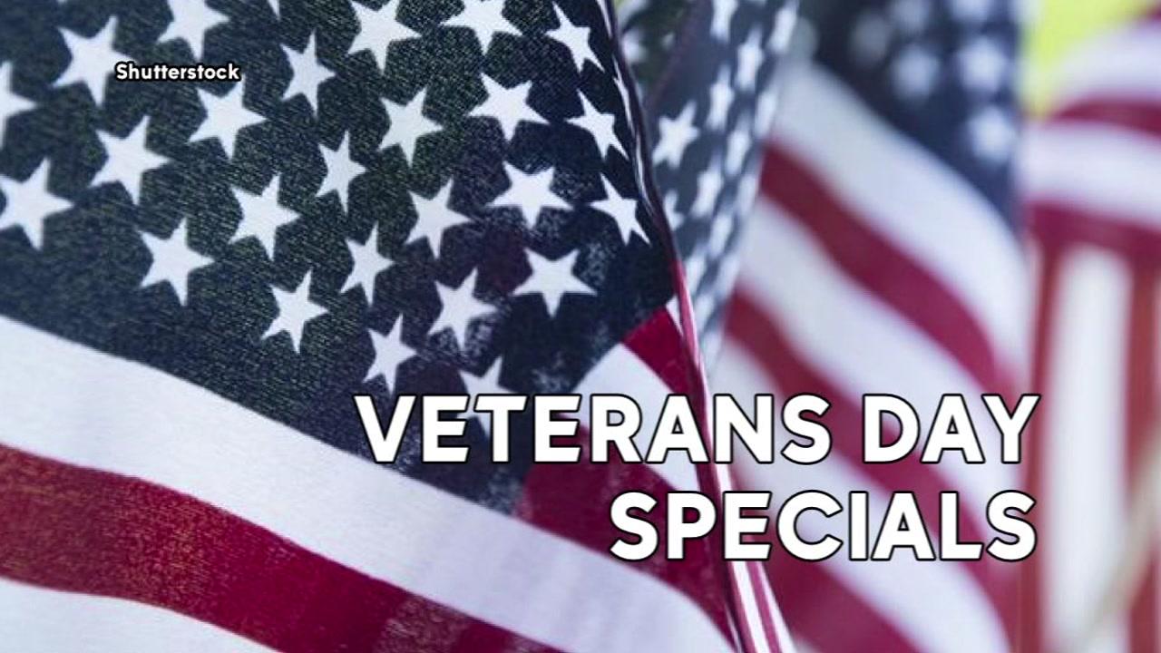 local veterans day freebies