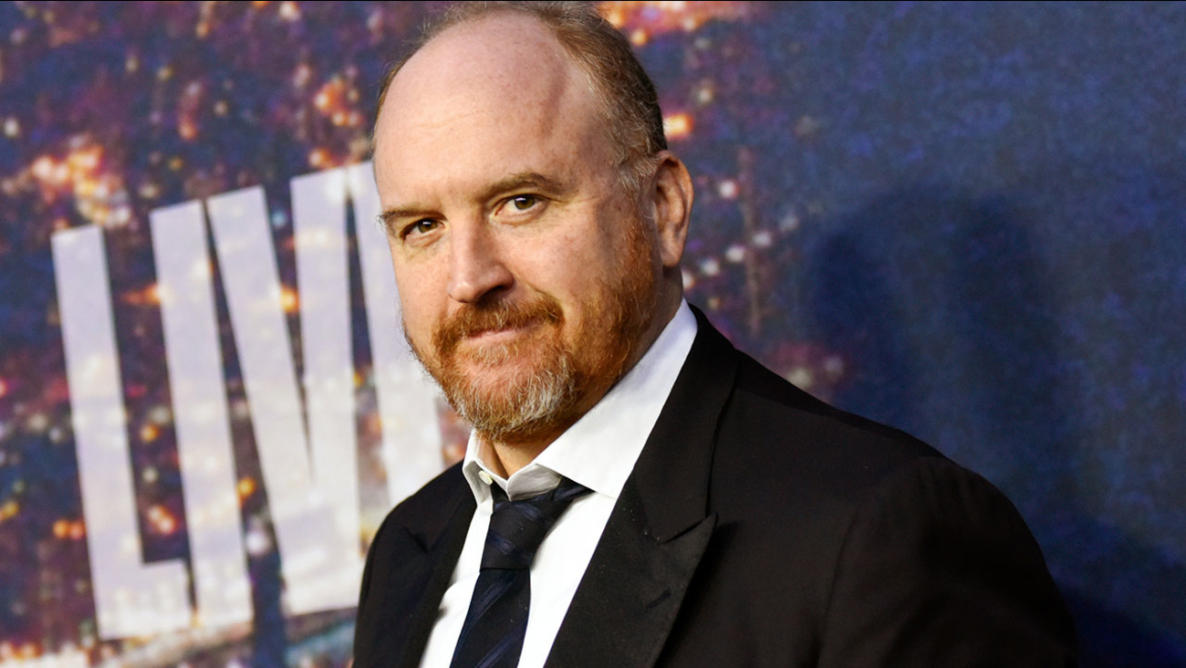 Louis CK attends the SNL 40th Anniversary Special at Rockefeller Plaza on Sunday, Feb. 15, 2015, in New York.