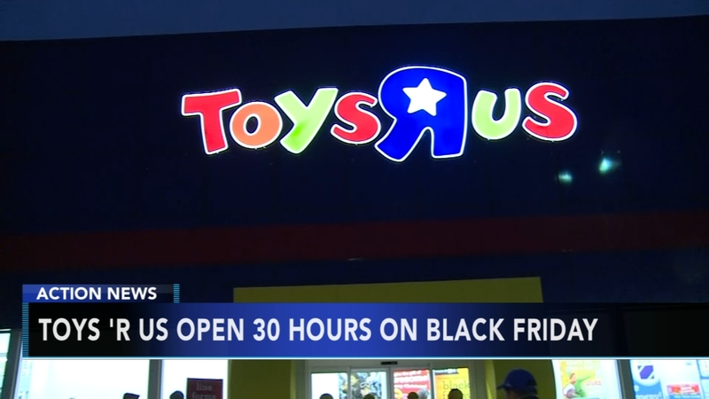 Toys R Us Stores To Open For 30 Straight On Black Friday 6abccom - Toys-r-us-black-friday-store-map