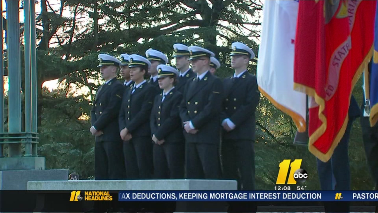 Veterans honored at NC State