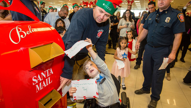 believe campaign 2018: how to send your letters to santa through