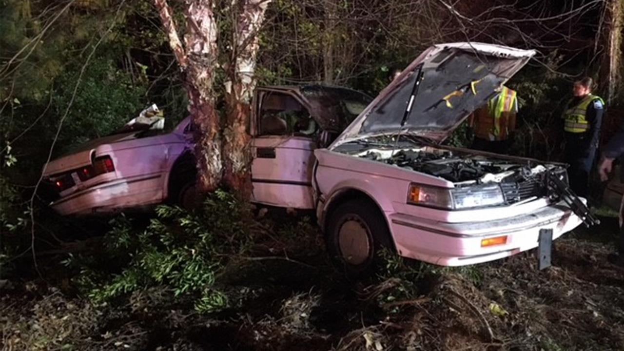 One injured during multi-vehicle crash in Clayton