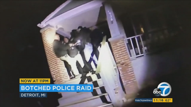VIDEO: Officers, undercover cops fight each other in drug raid mix-up