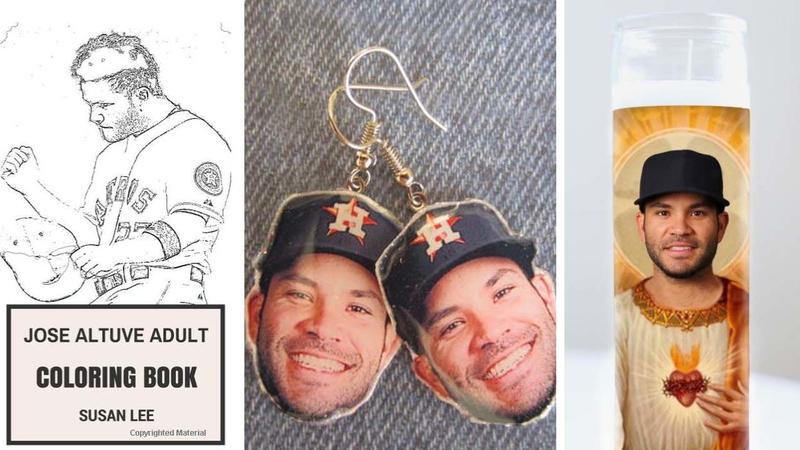 wholesale dealer 17c3e c3516 10 strangest Jose Altuve merchandise items