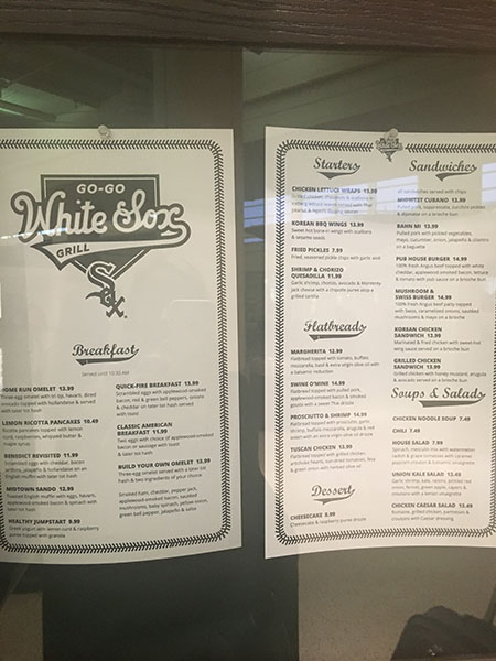 <div class='meta'><div class='origin-logo' data-origin='WLS'></div><span class='caption-text' data-credit=''>White Sox Grille menu</span></div>
