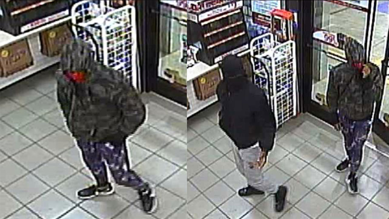 Clayton robbery suspects