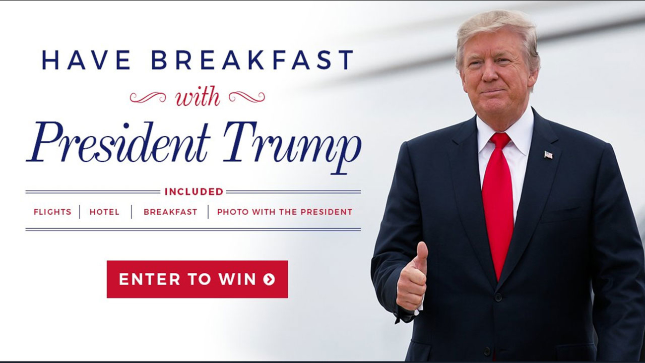 Breakfast with President Donald Trump
