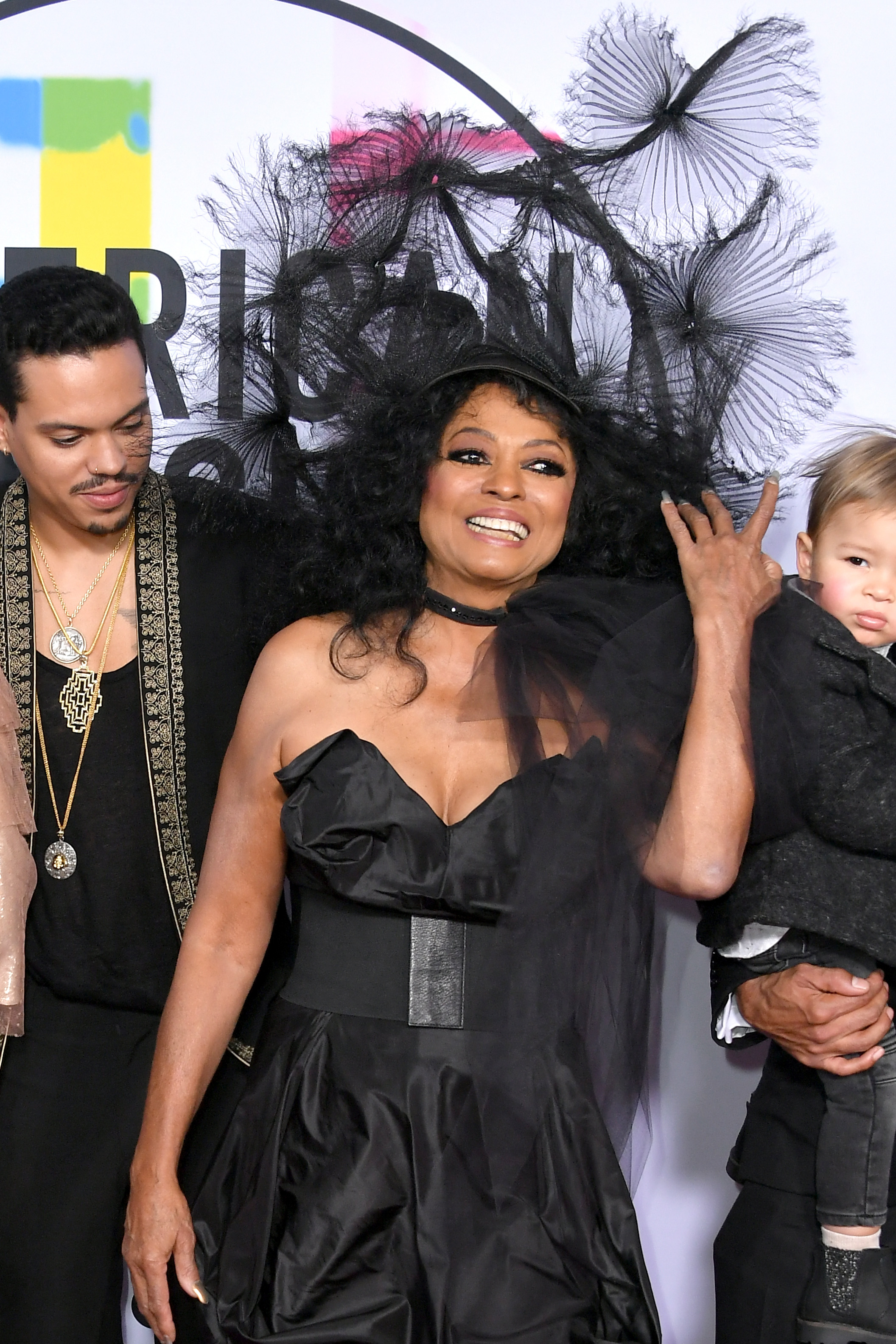 <div class='meta'><div class='origin-logo' data-origin='none'></div><span class='caption-text' data-credit='Neilson Barnard/Getty Images'>Evan Ross (L) and Diana Ross attend the 2017 American Music Awards at Microsoft Theater on November 19, 2017 in Los Angeles, California.</span></div>