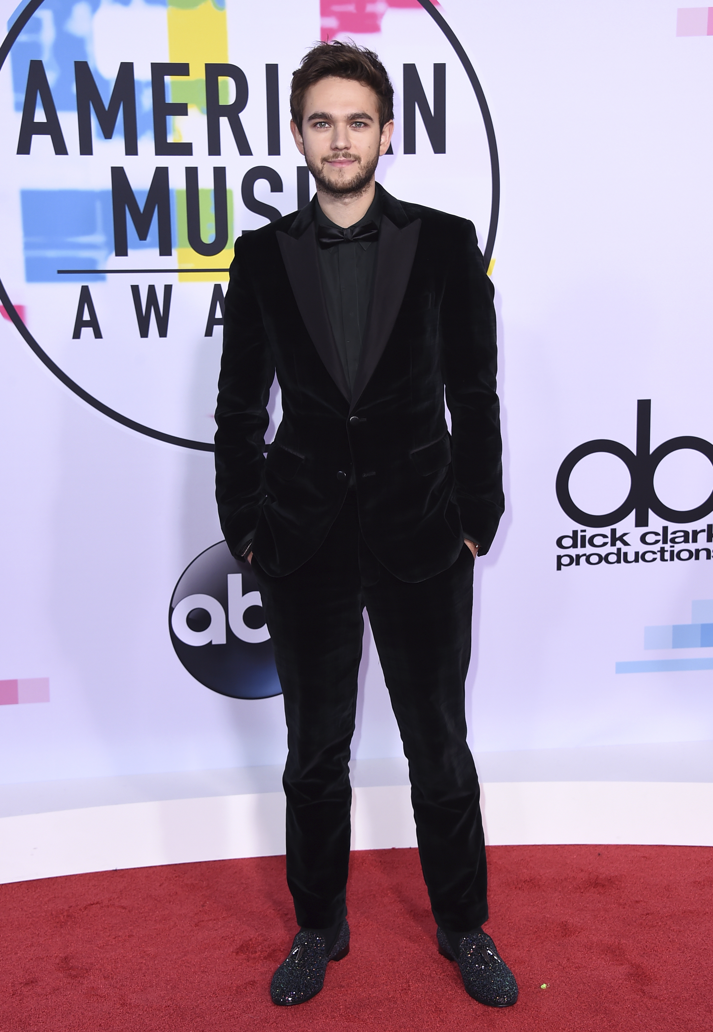 <div class='meta'><div class='origin-logo' data-origin='none'></div><span class='caption-text' data-credit='Jordan Strauss/Invision/AP'>Zedd arrives at the American Music Awards at the Microsoft Theater on Sunday, Nov. 19, 2017, in Los Angeles.</span></div>