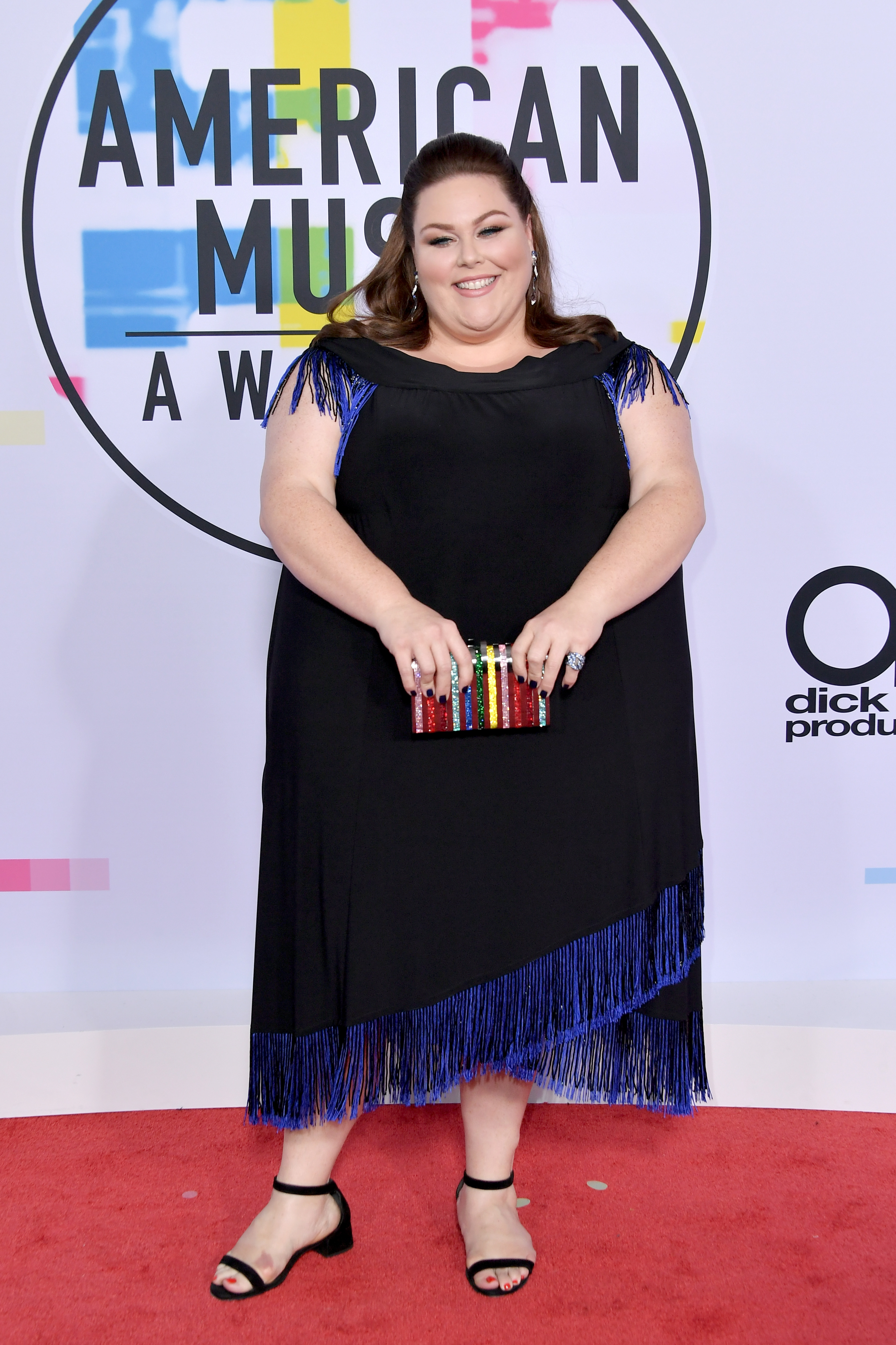 <div class='meta'><div class='origin-logo' data-origin='none'></div><span class='caption-text' data-credit='Neilson Barnard/Getty Images'>Chrissy Metz attends the 2017 American Music Awards at Microsoft Theater on November 19, 2017 in Los Angeles, California.</span></div>